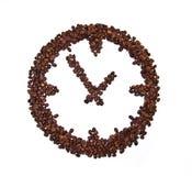 bönaklockakaffe som stiliseras till Arkivbild
