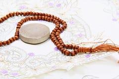 Bönen pryder med pärlor Royaltyfri Bild