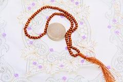 Bönen pryder med pärlor Royaltyfria Bilder