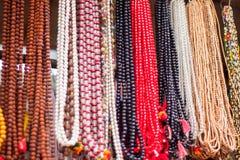 Bönen pryder med pärlor Arkivfoto