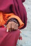 Bönen pryder med pärlor Arkivfoton