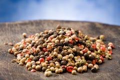 bönor blandad peppar Royaltyfri Bild