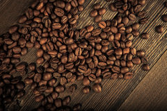bönor frukosterar ideal isolerad makro för kaffe över white Arkivfoto