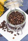 bönor frukosterar ideal isolerad makro för kaffe över white Fotografering för Bildbyråer