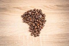 bönor frukosterar ideal isolerad makro för kaffe över white royaltyfria foton