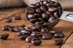 bönor frukosterar ideal isolerad makro för kaffe över white Royaltyfri Foto