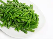 bönor fryst green Fotografering för Bildbyråer