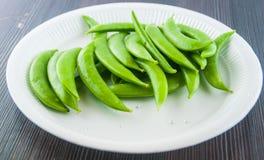 Bönor haricot vert, ärtor, morot, lagade mat haricot vert, radbönor, sparris, snittharicot vert, havre, grönsaker, brocco Arkivbilder