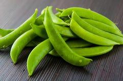 Bönor haricot vert, ärtor, morot, lagade mat haricot vert, radbönor, sparris, snittharicot vert, havre, grönsaker, brocco Royaltyfri Fotografi