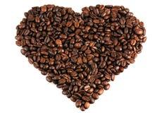bönor stänger upp kaffe Royaltyfri Fotografi