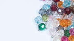 Bördelt viele Farben Stockfoto