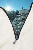 Börjande vintersäsong Arkivfoto