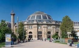 Börs du Kommers - Paris 1st Arrondissement Royaltyfria Foton