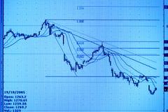 Börseüberwachung. lizenzfreie stockfotos