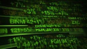 Börse-Börsentelegraf-Digital-Daten vektor abbildung