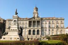 Börse-Palast. Porto. Portugal Stockfoto