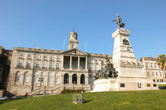 Börse-Palast. Porto. Portugal Stockbild