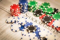 Börse-Risiko stockfotos