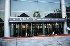 Börse Shanghais Stockfotografie