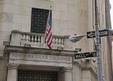 Börse von New York Stockbild