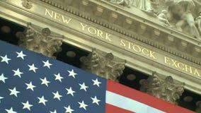 Börse von New York 2 8 stock video
