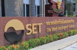 Börse von Thailand-SATZ lizenzfreies stockfoto