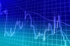 Börse zitiert Diagramm lizenzfreie abbildung