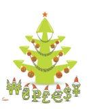 Börseen-Weihnachtsbaum-Konzept Lizenzfreie Stockbilder