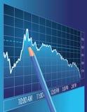 Börseenanalyse Stockfotografie