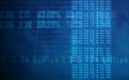 Börseendiagramm Lizenzfreie Stockfotos