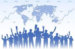 Börsehändlerteamwork Lizenzfreie Stockbilder