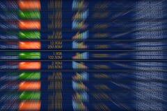 Börsehintergrunddesign Stockbilder