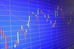 Börsenschirm Stockbilder