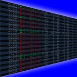 Börsequoten Stockfotos