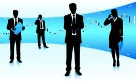 Börseteamleiter Stockfoto