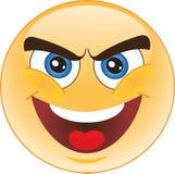 Böswilliger smiley Stockfoto