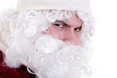 Böswilliger Weihnachtsmann Lizenzfreie Stockbilder