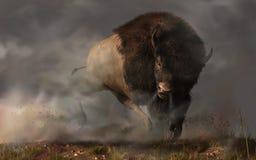 Búfalo de carga libre illustration