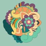 Búho abstracto Imagen de archivo libre de regalías