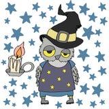 Búho de Halloween Imagenes de archivo