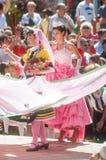 Búlgaro Rose Queen Festival em Karlovo bulgária foto de stock