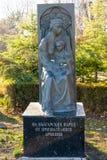 Búlgaros do monumento dos armênios gratos em Burgas, Bulgária Imagem de Stock