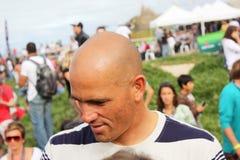 Búsqueda 2009 del Rip Curl de WCT favorable en Peniche Fotografía de archivo