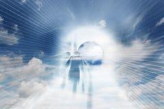 Búsqueda celeste Fotos de archivo libres de regalías