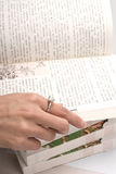Búsqueda de la paginación derecha Fotos de archivo libres de regalías