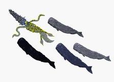 Búsqueda de las ballenas Imagen de archivo libre de regalías
