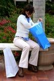Búsqueda de los bolsos 2 Imagen de archivo libre de regalías