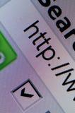 Búsqueda de WWW Fotografía de archivo