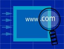 búsqueda de www.com Imagen de archivo