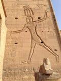 Búsqueda del faraón Imágenes de archivo libres de regalías